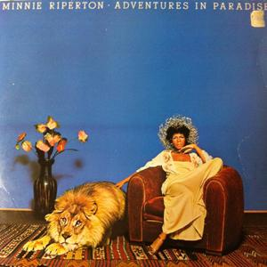 Album  Cover Minnie Riperton - Adventures In Paradise on EPIC Records from 1975