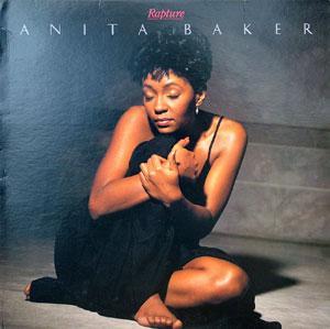 Album  Cover Anita Baker - Rapture on ELEKTRA Records from 1986