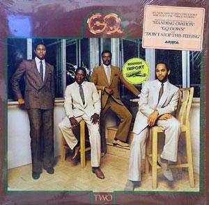 Album  Cover G.q. - Two on ARISTA Records from 1980