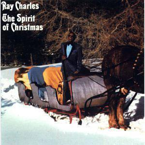 Album  Cover Ray Charles - The Spirit Of Christmas on COLUMBIA Records from 1985