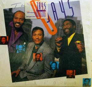 Front Cover Album The O'jays - Serious  | emi records | E1-90921 | US