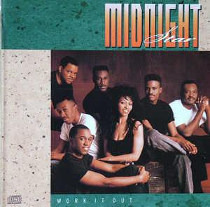 Album  Cover Midnight Star - Work It Out on SOLAR Records from 1990
