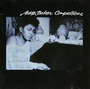 Album  Cover Anita Baker - Compositions on ELEKTRA Records from 1990