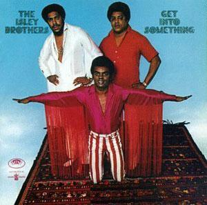 Front Cover Album The Isley Brothers - Get Into Something