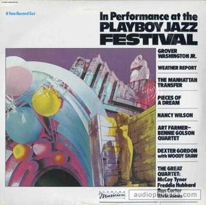 Album  Cover Grover Washington Jr - Playboy Jazz Festival on ELEKTRA Records from 1984