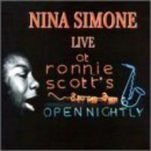 Album  Cover Nina Simone - Live At Ronnie Scott's on WINDHAM HILL Records from 1988