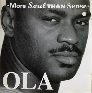 Album  Cover Ola Onabule - More Soul Than Sense on RUGGED RAM Records from 1995