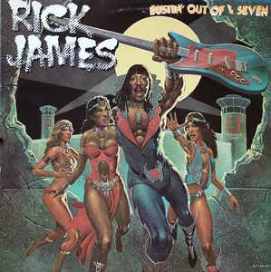 Album  Cover Rick James - Bustin' Out Of L Seven on GORDY Records from 1979