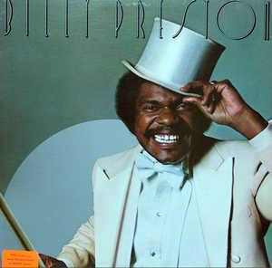 Album  Cover Billy Preston - Billy Preston on A&M Records from 1976