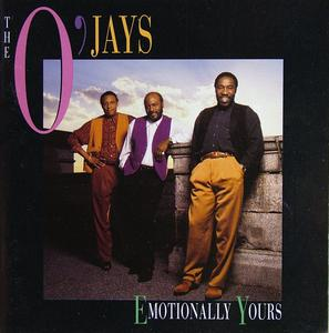 Front Cover Album The O'jays - Emotionally Yours