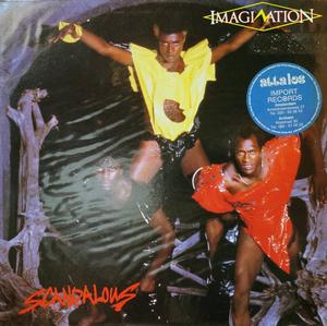 Album  Cover Imagination - Scandalous on RED BUS Records from 1983