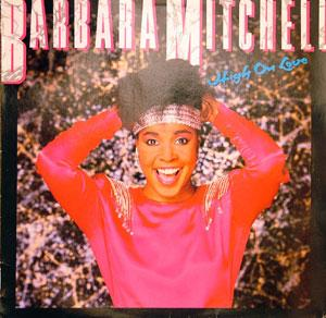 Album  Cover Barbara Mitchell - High On Love on LARC Records from 1986