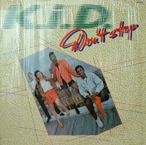 Album  Cover K.i.d. - Don't Stop on ARIOLA Records from 1981