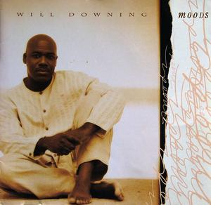 Album  Cover Will Downing - Moods on MERCURY Records from 1995