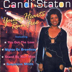 Album  Cover Candi Staton - Young Hearts Run Free on WARNER BROS. Records from 1976