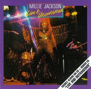 Album  Cover Millie Jackson - Live And Outrageous on SPRING Records from 1982