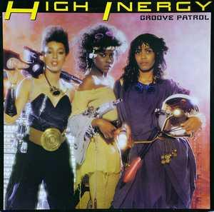 Front Cover Album High Inergy - Groove Patrol