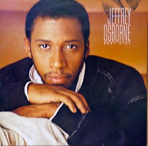 Album  Cover Jeffrey Osborne - Don't Stop on A&M Records from 1984