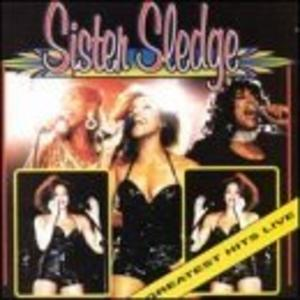 Album  Cover Sister Sledge - Sister Sledge Live on WAXWORKS Records from 1998