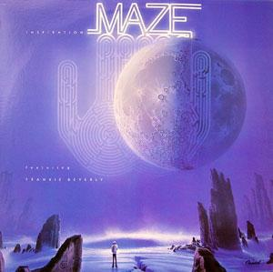 Album  Cover Maze - Inspiration on CAPITOL Records from 1979