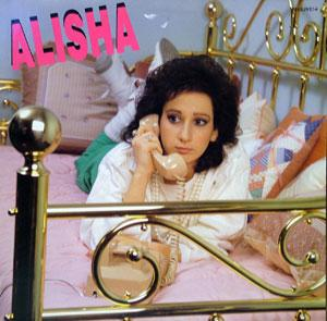 Album  Cover Alisha - Alisha on VANGUARD Records from 1985