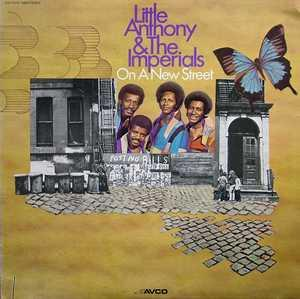 Album  Cover Little Anthony And The Imperials - On A New Street on AVCO Records from 1973