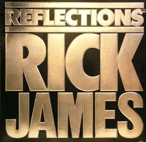 Album  Cover Rick James - Reflections on GORDY Records from 1984
