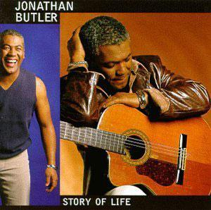 Front Cover Album Jonathan Butler - Story Of Life