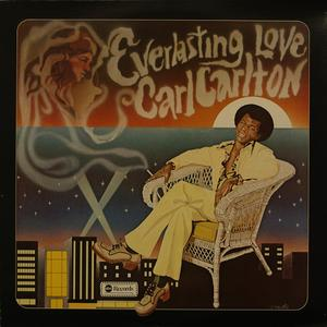 Album  Cover Carl Carlton - Everlasting Love on ABC Records from 1974