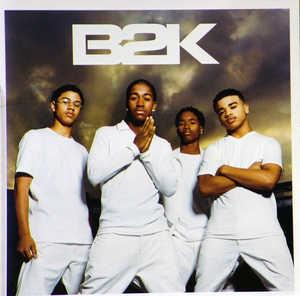 Album  Cover B2k - B2k on EPIC Records from 2002