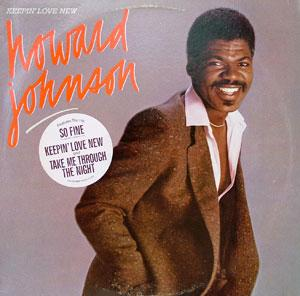 Front Cover Album Howard Johnson - Keepin' Love New