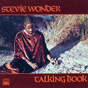 Album  Cover Stevie Wonder - Talking Book on TAMLA Records from 1972