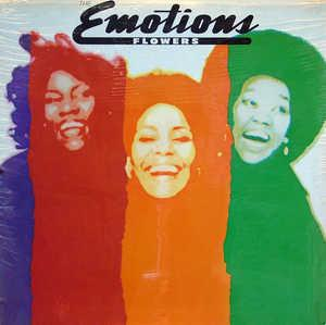 Front Cover Album The Emotions - Flowers