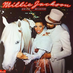 Album  Cover Millie Jackson - Just A Lil' Bit Country on SPRING / POLYDOR Records from 1981