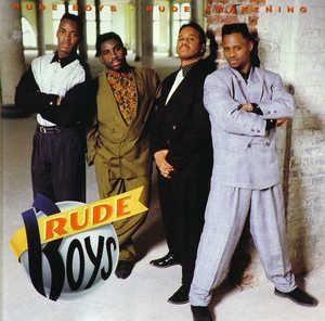 Album  Cover Rude Boys - Rude Awakening on ATLANTIC Records from 1990