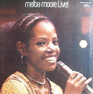 Front Cover Album Melba Moore - Melba Moore Live!