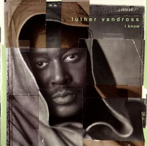 Front Cover Album Luther Vandross - I Know
