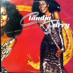Front Cover Album Claudja Barry - Boogie Woogie Dancin' Shoes