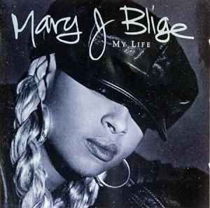 Album  Cover Mary J. Blige - My Life on MCA Records from 1994