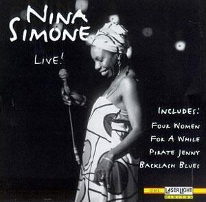 Album  Cover Nina Simone - Live on ZETA Records from 1990