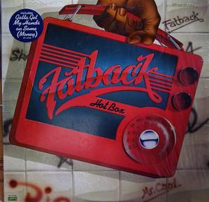 Album  Cover Fatback - Hot Box on SPRING Records from 1980