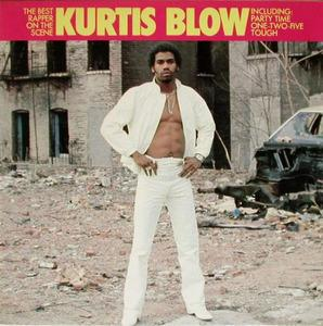 Album  Cover Kurtis Blow - Best Rapper On The Scene on MERCURY Records from 1983