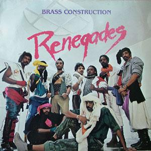 Album  Cover Brass Construction - Renegades on CAPITOL Records from 1984