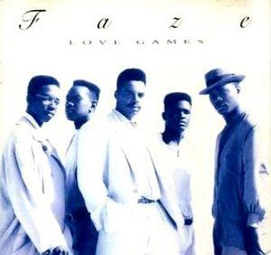 Album  Cover Faze - Love Games on BAHIA Records from 1991