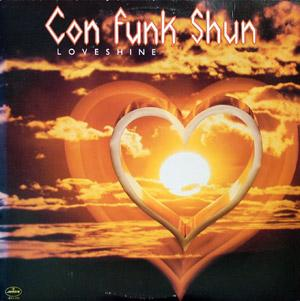 Front Cover Album Con Funk Shun - Loveshine