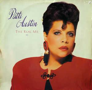Album  Cover Patti Austin - The Real Me on QWEST Records from 1988
