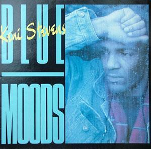 Album  Cover Keni Stevens - Blue Moods on JAM TODAY Records from 1987