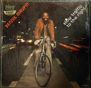Album  Cover Bennie Maupin - Slow Traffic To The Right on MERCURY (PHONOGRAM) Records from 1977