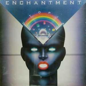 Album  Cover Enchantment - Utopia on COLUMBIA Records from 1983