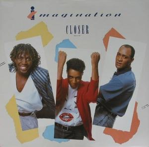 Album  Cover Imagination - Closer on RCA Records from 1987